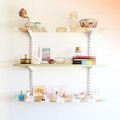 Make your own patterned shelves! (via Design Love Fest)