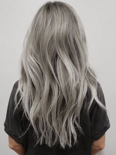I've been obsessing over silver toned blonde hair More