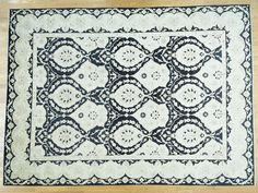 Hand-Knotted Peshawar With Moughal Design Oriental Rug- Product:10-x13-8-Hand-Knotted-Peshawar-With-Moughal-Design-Oriental-Rug-Sh34088