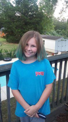 She likes her kool-aid dyed hair