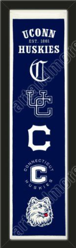 Heritage Banner Of Connecticut Huskies-Framed Awesome & Beautiful-Must For A Championship Team Fan! Most NCAA Team Banners Available-Plz Go Through Description & Mention In Gift Message If Need A different Team Art and More, Davenport, IA http://www.amazon.com/dp/B00F9UT42Q/ref=cm_sw_r_pi_dp_E0AJub14FX6ZB