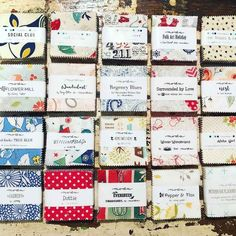 Whether you call them Candy or Mini Charm packs, we do love our little packages of 2.5″ squares.