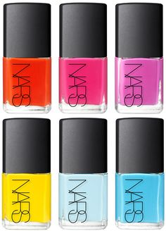 Lal Mirchi, Anardana, Amchoor. Thakoon and Nars have created a collection of nail colours inspired by spices.