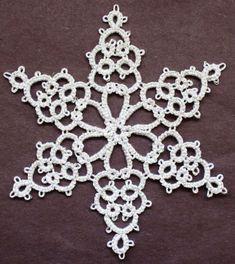 Tatting Fool: Elegant Snowflake