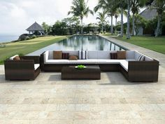 Lounge couch outdoor