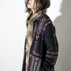 ≫∙∙ embroided boho hippie coat ∙∙≪