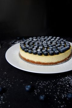 Blueberry Ricotta Cheesecake ° eat in my kitchen Photography Foodie
