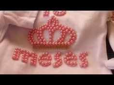 Como personalizar body finalização - YouTube Hand Embroidery, Projects To Try, Brooch, Crafts, Youtube, Jewelry, Yuri, Victoria, Clothing
