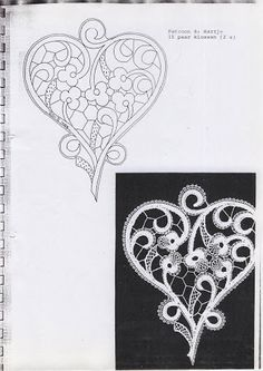 Magical World pergamano: Templates for the wedding theme. Hairpin Lace Crochet, Crochet Motifs, Crochet Shawl, Romanian Lace, Bobbin Lace Patterns, Loom Patterns, Lace Earrings, Lacemaking, Lace Heart