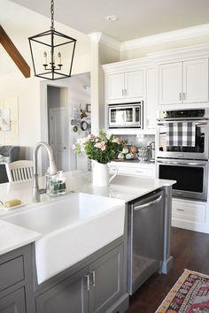 Luxury white kitchen design ideas (19)
