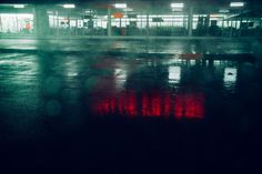 Mysterious Series of a Lonely Car under Neon Light – Fubiz Media