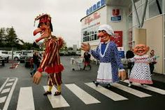 giant punch and judy - Google Search