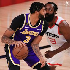 Baskets, Contact Sport, Anthony Davis, James Harden, Los Angeles Lakers, Just Do It, Nba, Basketball, Guys