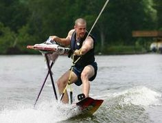 """According to the Extreme Ironing Bureau (yes, that's actually a thing), extreme ironing is, """"the latest danger sport that combines the thrills of an extreme outdoor activity with the satisfaction of a well-pressed shirt."""" Conceived in Britain, competitors now travel the globe looking for the most extreme places to get their iron on."""