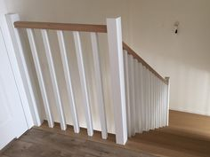 Staircase Railings, Stairs, Stair Lighting, Half Walls, Hallway Decorating, Home Kitchens, Decoration, Sweet Home, Home Appliances