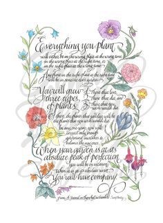 Calligraphy Art by Sally Penley