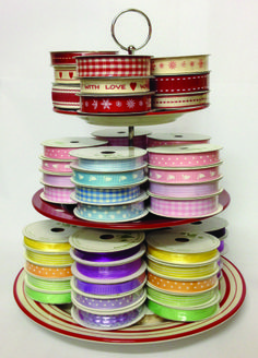 Vintage feel ribbons by the roll from Fantastic Ribbons