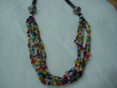 Vintage Tibetan Necklace by onijewelry on Etsy, $45.00