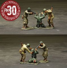 World War II U.S. Infantry Divisions ETA-045 Got You Fritz - Made by Figarti Military Miniatures and Models. Factory made, hand assembled, painted and boxed in a padded decorative box. Excellent gift for the enthusiast.