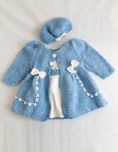 Bon Bon Dress & Jacket Set Crochet Pattern