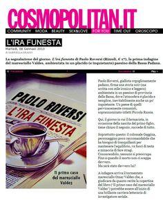 Cosmopolitan recensisce l'ira funesta #irafunesta