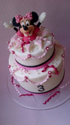 minnie mouse cake topper | Minnie Mouse Cakes – Decoration Ideas