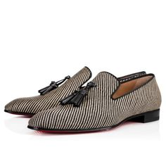 Shoes - Dandelion Tassel Flat - Christian Louboutin