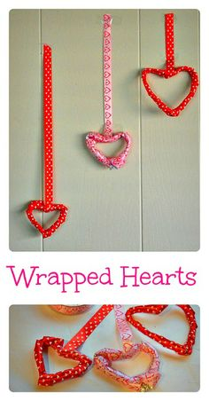 Simple Valentine's day crafts for kids. #valentine'sdaycrafts