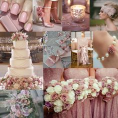 Dusty Pink Is An Absolutely Beautiful Colour For Your Wedding A Subtle But Ful