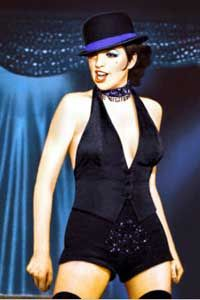 """Lisa Minnelli sings the title song in """"Cabaret"""""""