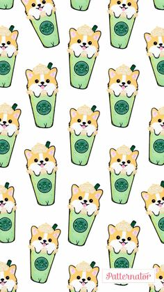 Ideas Dogs Wallpaper Backgrounds Animals For 2019 Corgi Wallpaper Iphone, Kawaii Wallpaper, Animal Wallpaper, Emoji Wallpaper, Cute Dog Wallpaper, Cute Wallpaper Backgrounds, Tumblr Wallpaper, Cute Wallpapers, Colorful Wallpaper