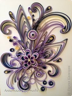 Painting mural drawing Quilling Paper Curls for Hamster band photo 1