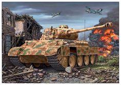 Panzerkampfwagen V(A) Panther con cañón KwK 42 L-70 de 75 mm