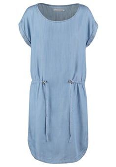 Jurken Minimum LIANNA - Korte jurk - light blue Lichtblauw: 69,95 € Bij Zalando (op 28/04/16). Gratis verzending & retournering, geen minimum bestelwaarde en 100 dagen retourrecht!