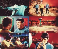 """Star Trek TOS: Amok Time Chekov: """"I think I'm going to be space-sick."""""""