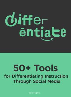 """Become a personalized learning """"wiz"""" with this Google Doc that lists the BEST social media tools that support differentiated instruction."""