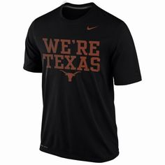 premium selection ee161 3e7ad Nike Texas Longhorns Legend Phrase Dri-FIT Performance Tee - Men Nike Shoes  For Sale