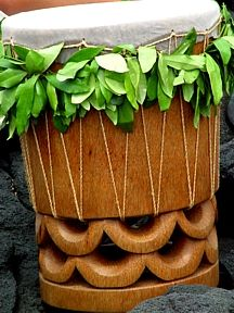 Pahu. The heart beat of the South Pacific.