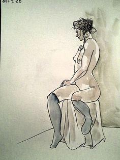 2017 - ink & watercolor - N.Chauveau