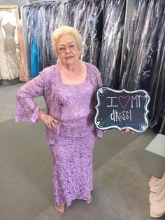 Virginia is the Grandmother of the Groom & she looks beautiful in this Orchid color Soulmates Silk dress for her grand son's wedding! The wedding will be in Montgomery, Texas at The Ranch House. The ceremony will be in the chapel and the reception will be in the lodge. #TCarolyn #TCdressedme