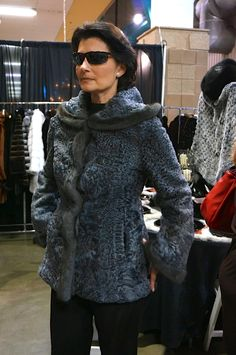 Chinchilla Rex Hooded Jacket   - #AlaskanFur #AFC #KansasCity #KC #Fashion #Fur #Charity #Fall #Winter #FallFashion #Jackets #Coats #Womenswear #Model #BTS #Designer #lookbook #beautiful #glamorous #glam #leather #cashmere #workit #Tablescapes2013 #Tablescapes #BOTAR #AmericanRoyal #TheAmericanRoyal #chinchilla