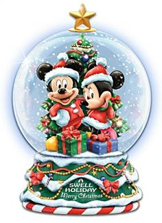 Mickey & Minnie Mouse Christmas