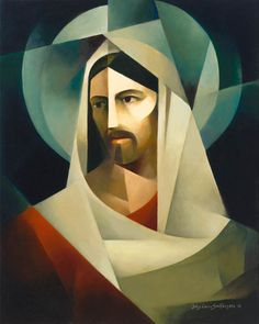 Posts about religious art written by Jorge Cocco Studio and amielcocco Catholic Art, Religious Art, Religious Paintings, Christian Paintings, Christian Artwork, Jesus Painting, Cubism Art, Jesus Art, Jesus Christ Drawing