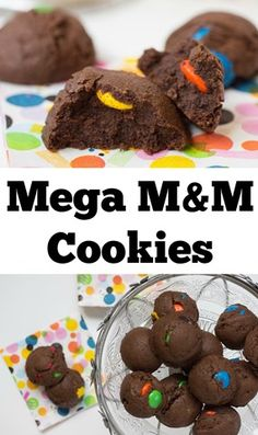 Mega M&M Cookies!!!!