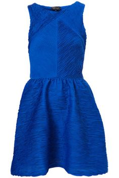 texture pleat dress from topshop