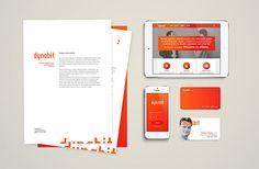 Visual Identity for IT Company. #brand #identity #branding #design #direction
