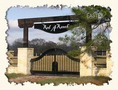 Ranch Entry Gate....wish we could do something like this!!