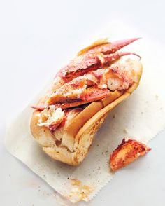"""""""The best ingredients don't need much to shine"""" says Luke Holden, President, Luke's Lobster, New York City about his minimalist lobster roll recipe. We adapted this recipe from his restaurant's cookbook, Real Maine Food."""
