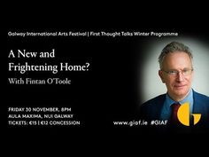 Galway International Arts Festival presented its winter First Thought Talks series on 30 November and 1 December In this talk, The Irish Times journali. Captain Scott, Festival One, Irish Times, Fatal Attraction, Oppression, Revolutionaries, New Books, Psychology, How To Find Out