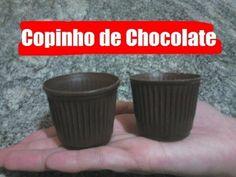 CasaCozinha - Como fazer Copinhos de Chocolate | how to make chocolate cups - YouTube
